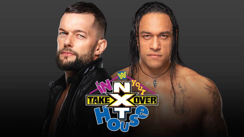 finn balor damian priest nxt takeover house