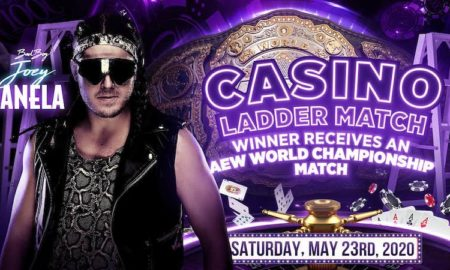 joey janela casino ladder match