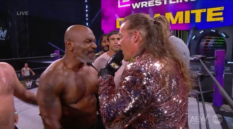 mike tyson chris jericho 1