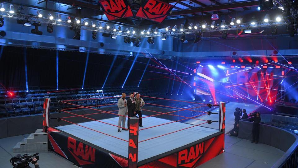 raw performance center wwe