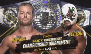 nxt finale tournoi cruiserwegight