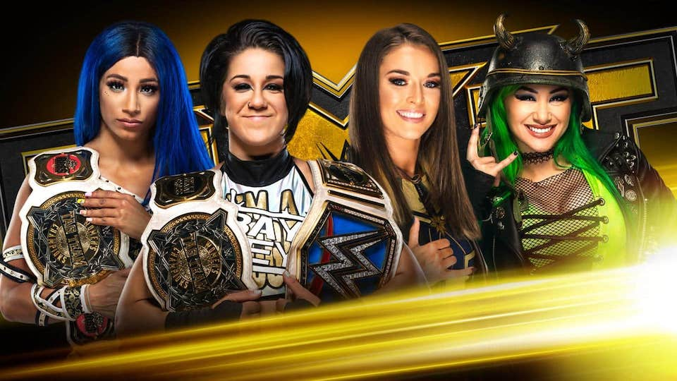 sasha banks bayley shotzi blackheat tegan nox