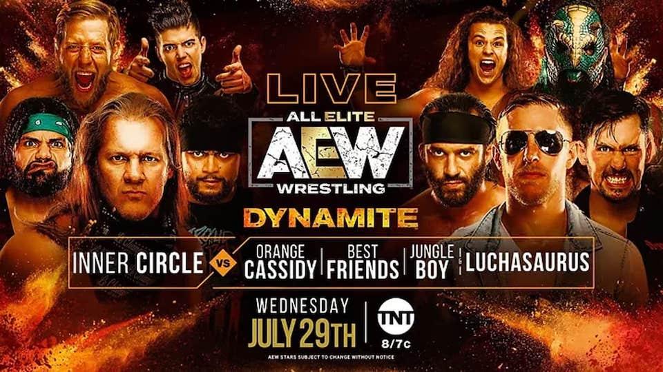 aew dynamite 29 juillet 2020