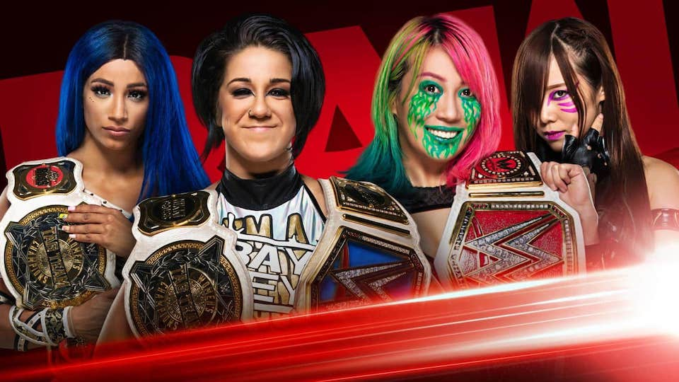 sasha banks bayley kabuki warriors raw