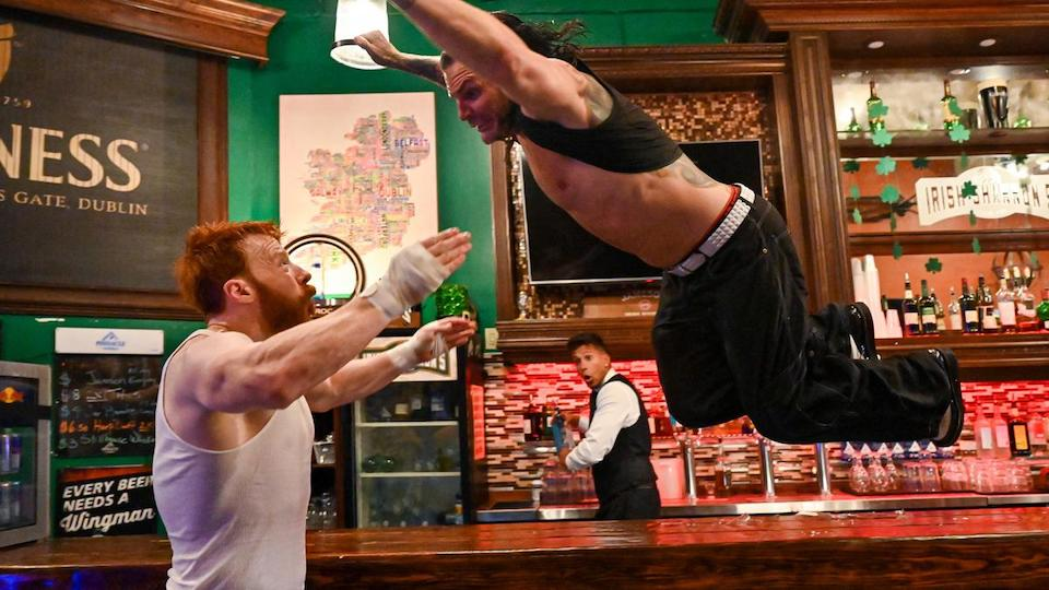 sheamus jeff hardy bar fight