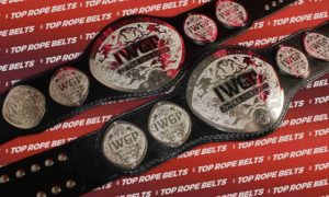 IWGP Junior Tag Team Belts compressed