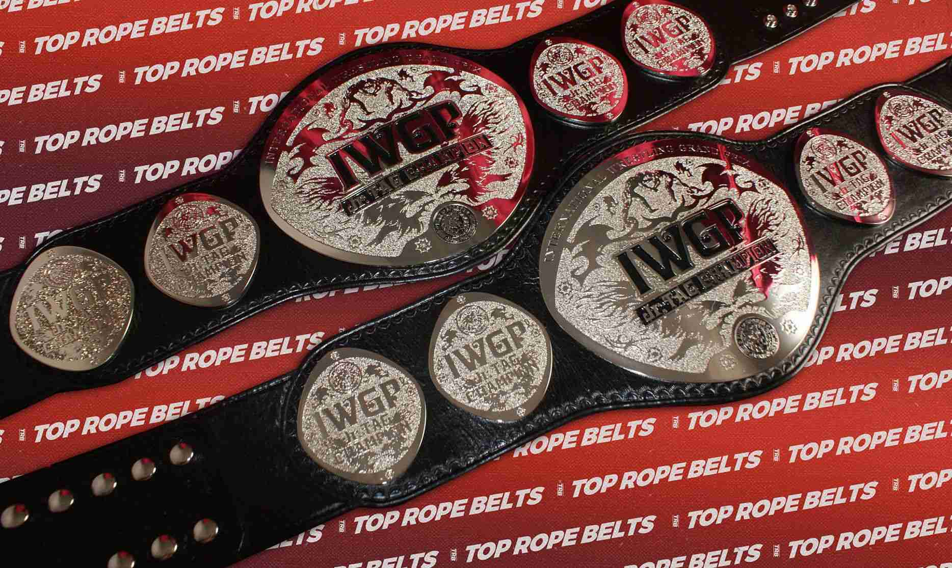 IWGP Junior Tag Team Belts compressed