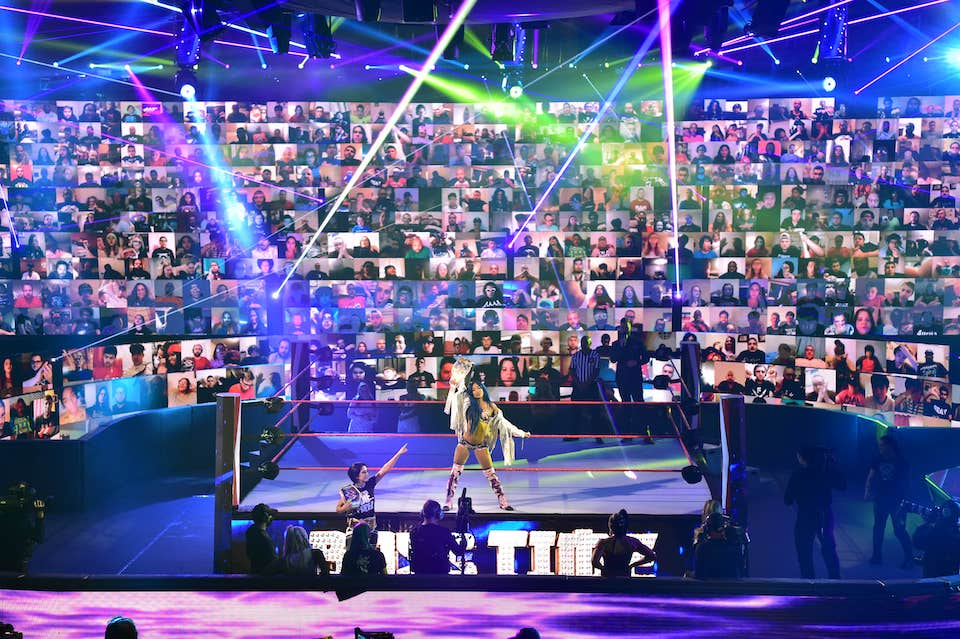 wwe thunderdome raw