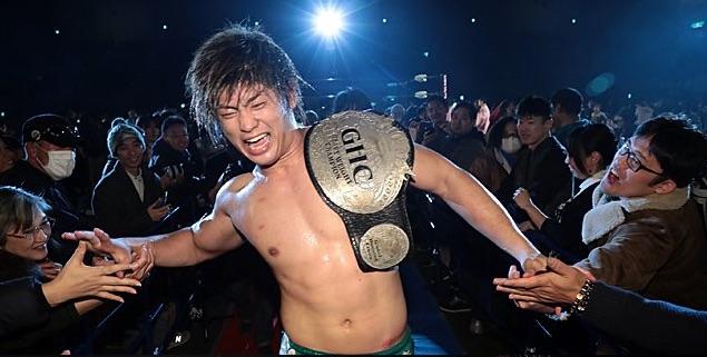 Kaito Kiyomiya ghc champion
