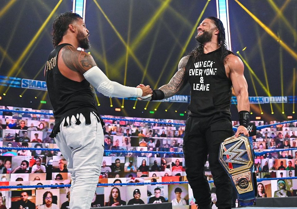 jey uso roman reigns clash of champions