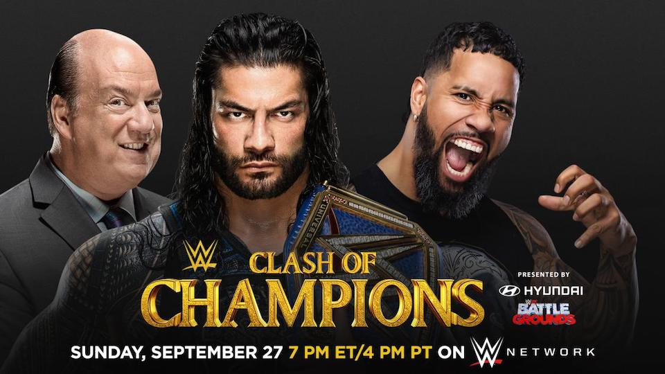 roman reigns jey uso clash of champions