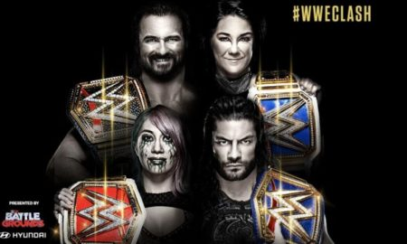 wwe clash of champions 2020 poster