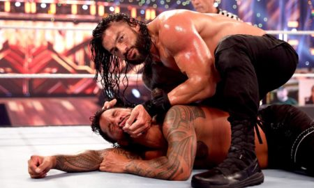 wwe clash of champions 2020 roman reigns jey usos