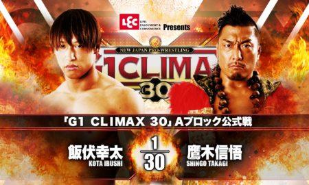 Ibushi vs Takagi G130