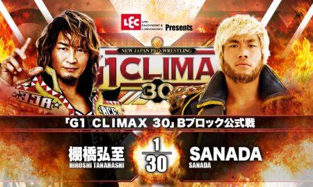 Tanahashi vs SANADA G130