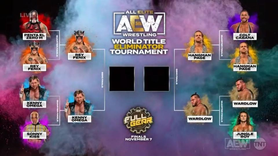 aew world title eliminator demi finales