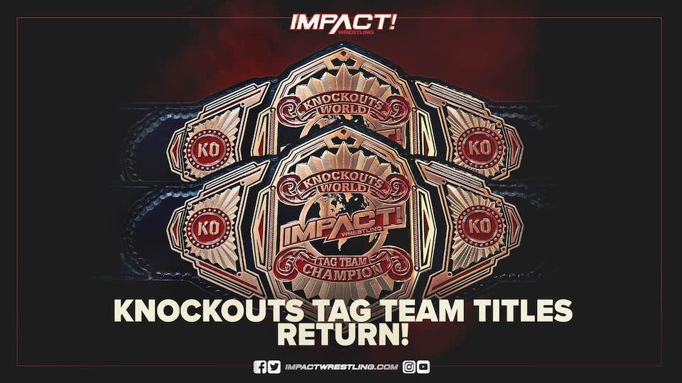 impact knockout tag team retour