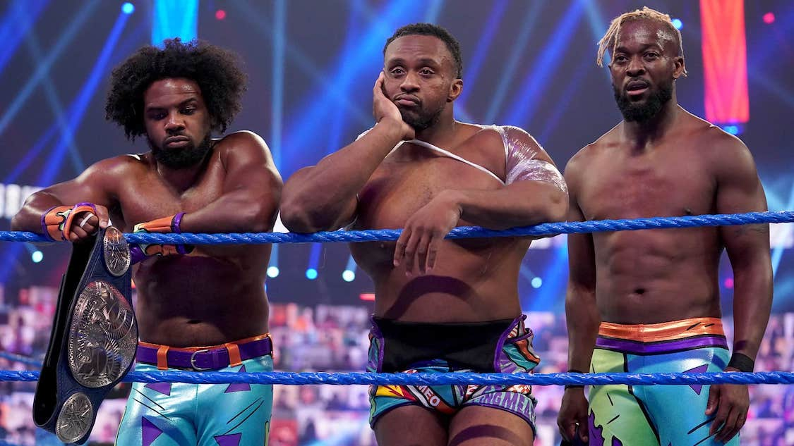 new day smackdown 9 octobre