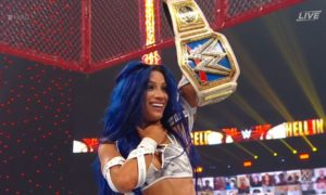 sasha banks hiac championne smackdown