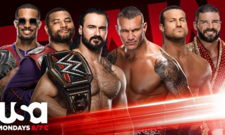 wwe raw 5 octobre