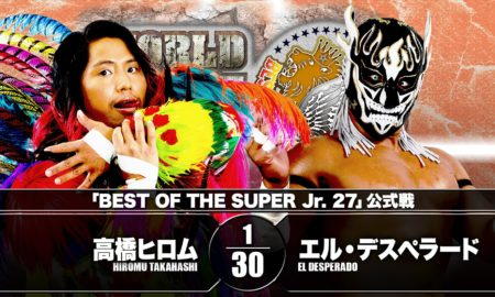 Hiromu vs Desperado BOSJ 27