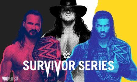 Survivor Series 2020 carte resultats