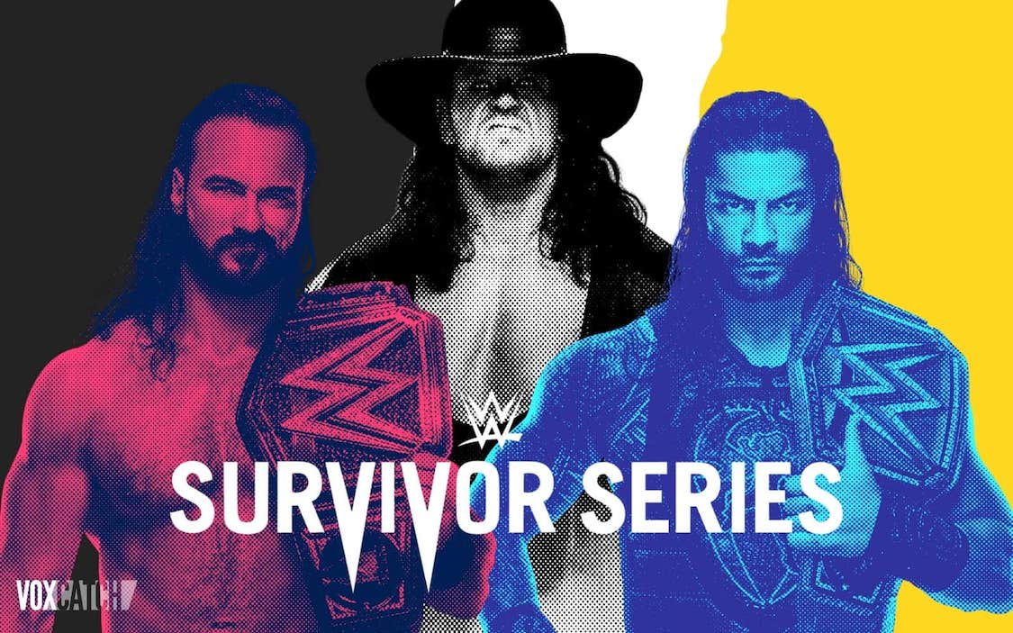 Survivor Series 2020 carte resultats