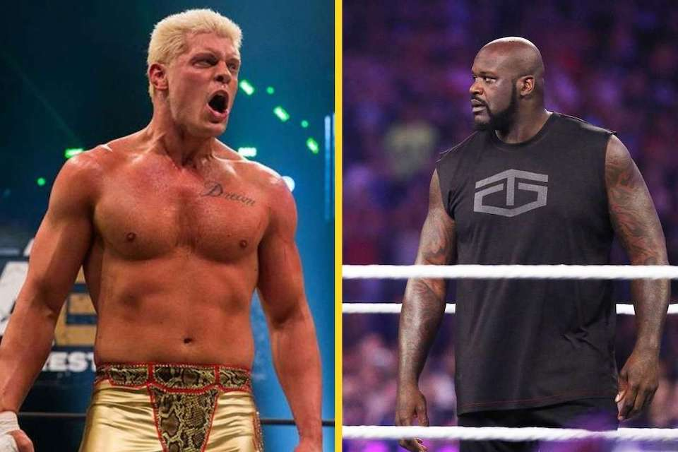 cody rhodes shaquille o neil