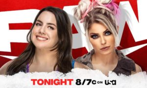 nikki cross alexa bliss wwe raw