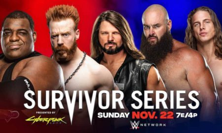 team raw smackdown survivor series 2020
