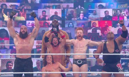 team raw victoire survivor series