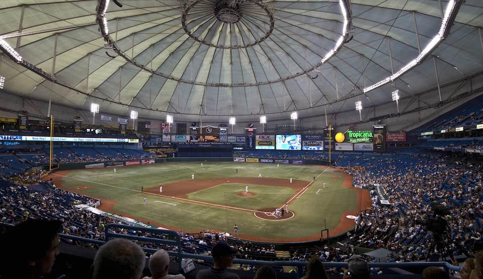 tropicana field stadium