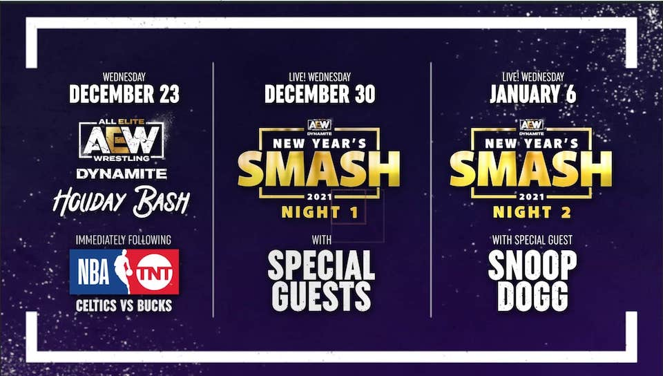 aew new years smash holiday bash