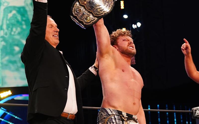 kenny omega impact wrestling