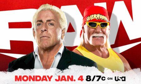 wwe raw 4 janvier 2021 légendes
