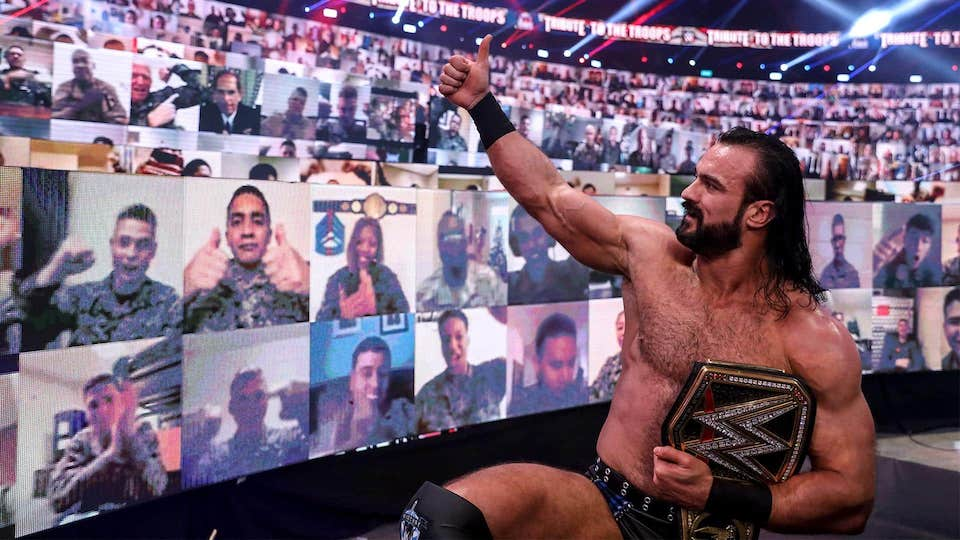 wwe tribute to the troops 2020 drew mcintyre