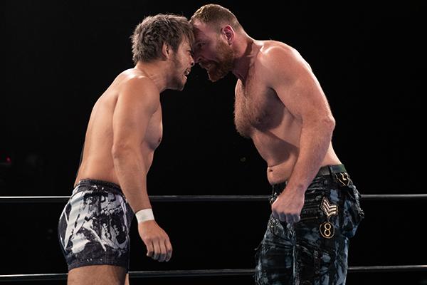 Moxley KENTA NJPW Strong