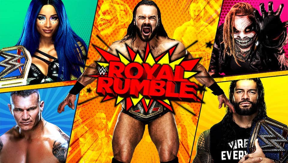 carte wwe royal rumble 2021 1