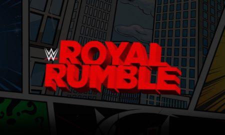 carte wwe royal rumble 2021