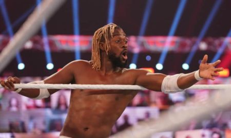 kofi kingston blessure machoire