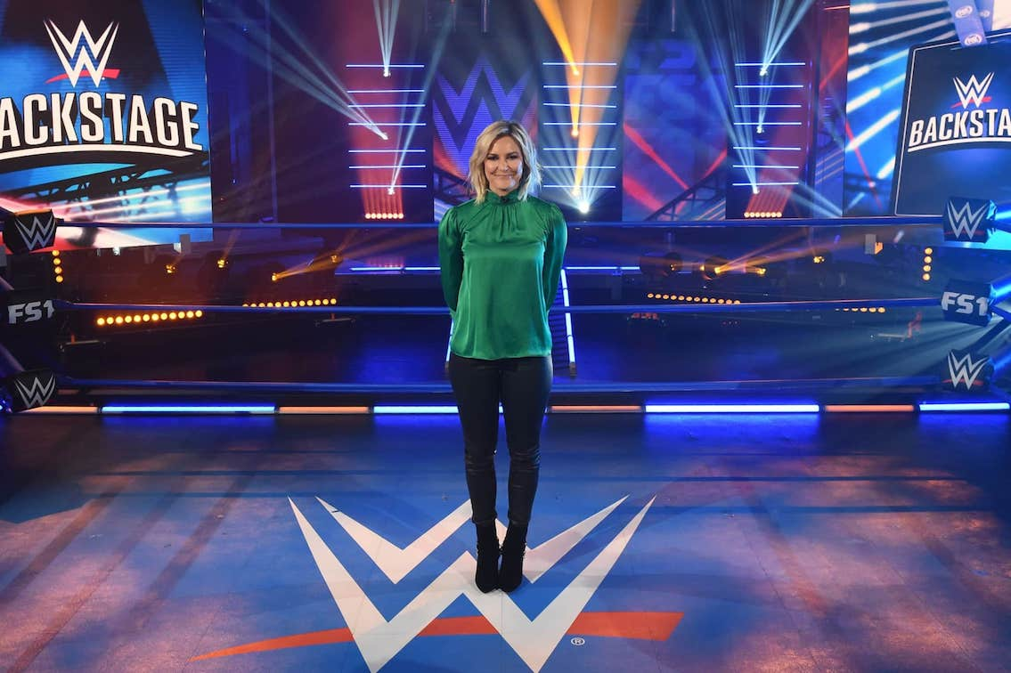 renee paquette wwe backstage