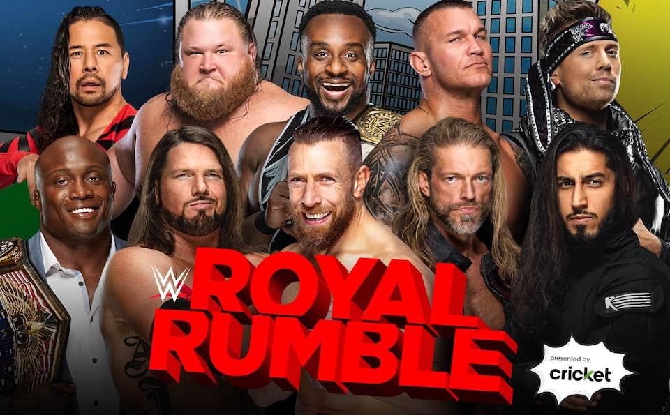 royal rumble 2021 homme gagnant