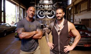 the rock roman reigns wrestlemania