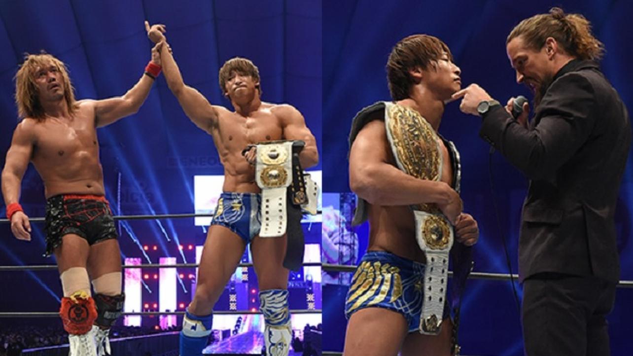 wrestle kingdom 15 kota ibushi champion