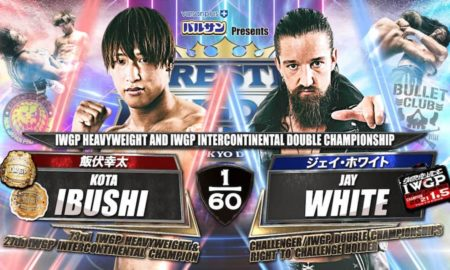 wrestle kingdom 15 resultats