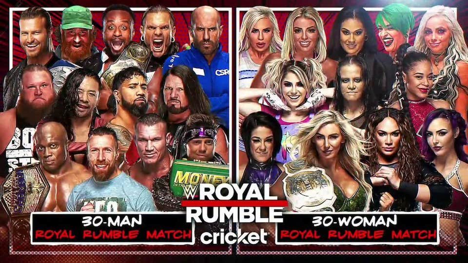 wwe royal rumble 2021 participants