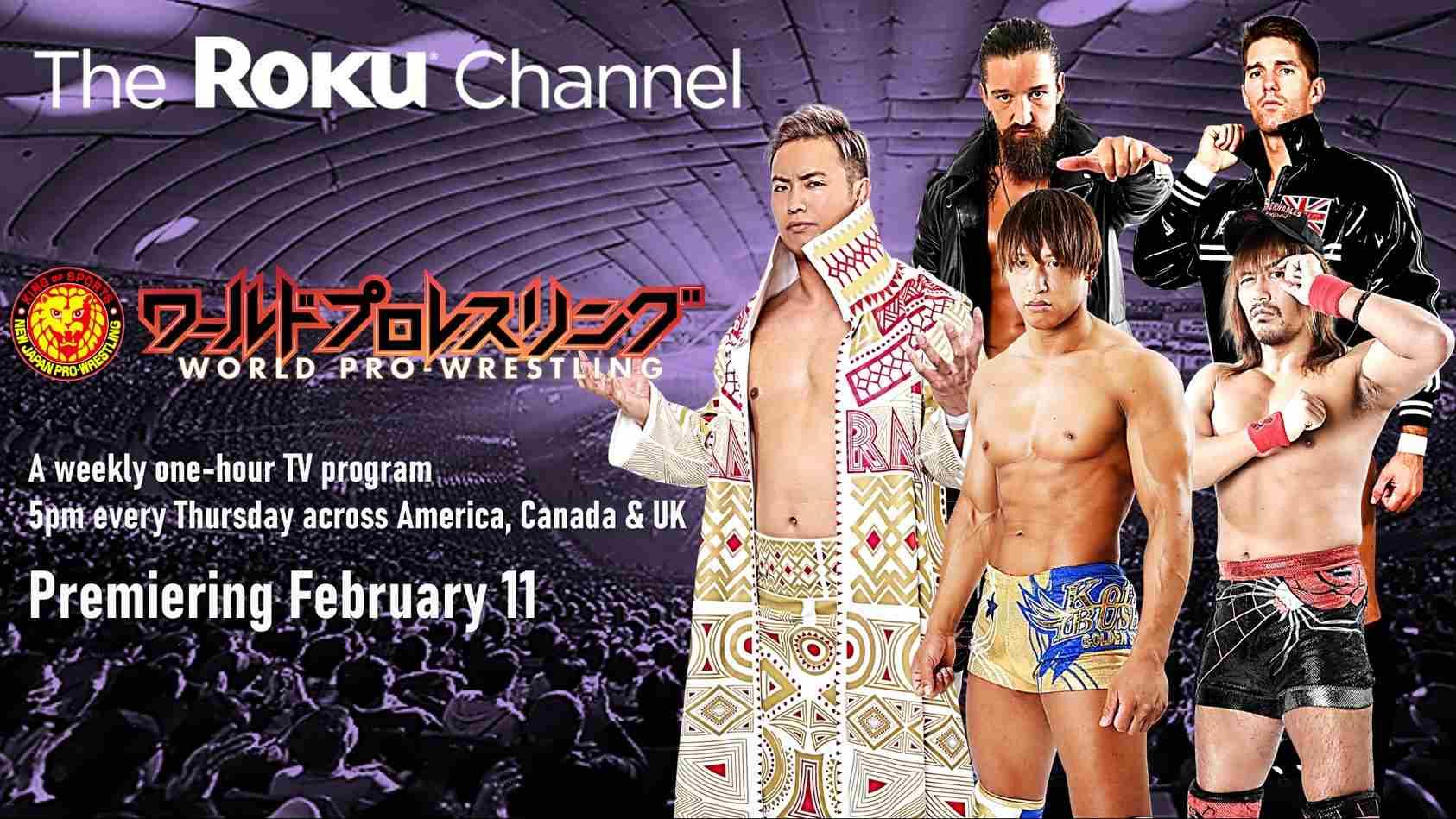 NJPW Roku Channel compressed