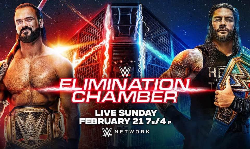 carte wwe elimination chamber 2021