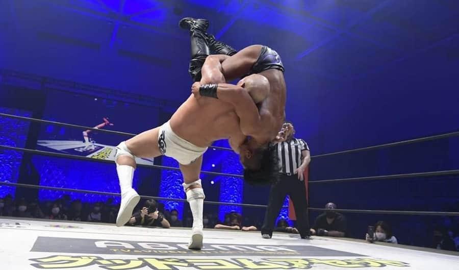 ddt kawasaki strong 2021 akiyama vs endo
