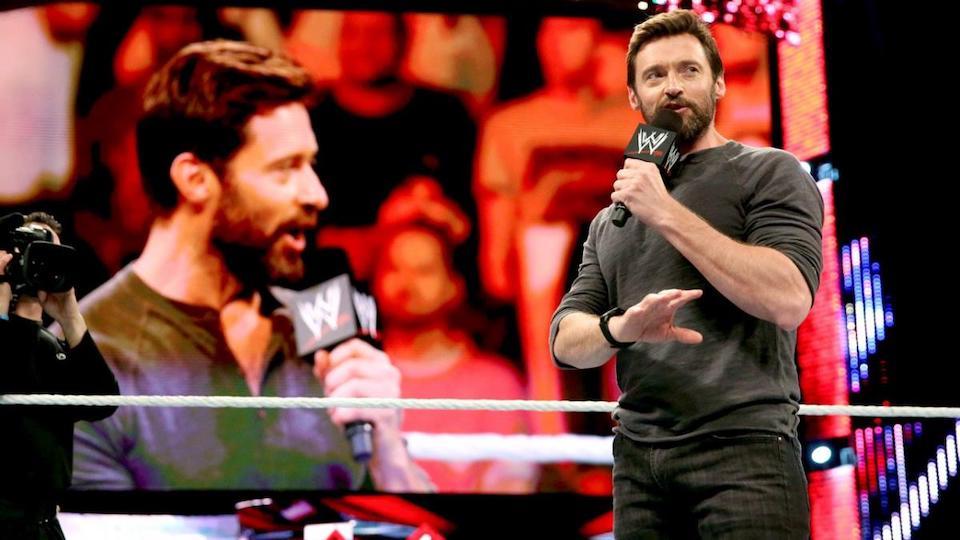 hugh jackman guest host wwe raw